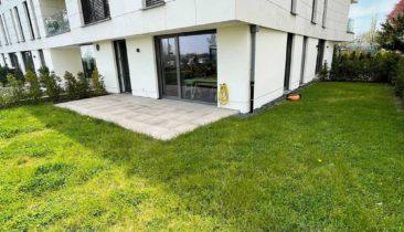 Appartement meublé avec terrasse (jardin) à louer à Luxembourg-Merl