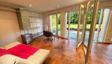 Studio meublé (rez-de-jardin) à louer à Luxembourg-Cessange