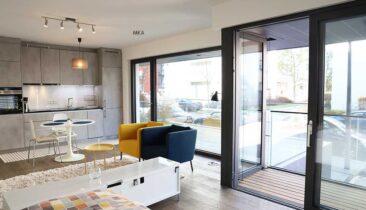 Studio meublé (nouvelle construction) à louer à Luxembourg-Beggen